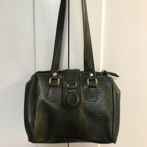 Gitano Dark Green Leather Bag